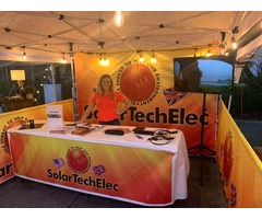 Big Solar Exhibition at Safety Harbor Florida Wine Festival – Solar Tech Elec