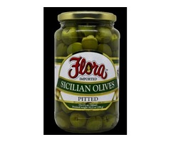 Imported Castelvetrano Olives By Flora Fine Foods