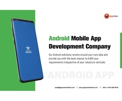 Professional Android Mobile Apps Development Company in the USA