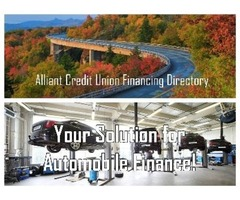 Alliant Credit Union Financing Directory is a Leading Automobile Finance Company