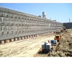 Soil Nails and Shotcrete Wall Retaining Contractors