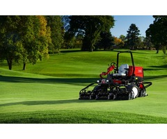 Benefits of used turf equipment for a golf course