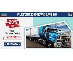 E-file Truck Tax Form 2290