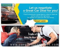 Trade a Car Using the Most Trusted Network of Car Buyers and Dealers