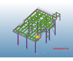 Structural Steel Designing and Detailing Using TEKLA,AUTOCAD