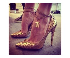 Banquet Shoes Pointed Toe Buckle Chic Sandals