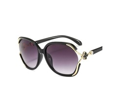 Fashion Resin Wrap Sunglasses