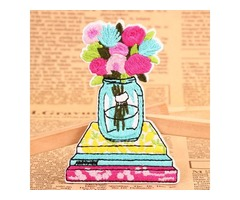 Beautiful Flowers Custom Adhesive Patches