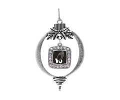 Purchase Praying Hands Square Charm Christmas / Holiday Ornament
