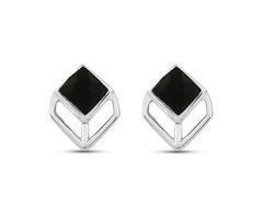 Black Onyx Dangle Earrings - Black Friday Sale - Stellar Designs