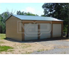Order Online Prefab Metal Garage Structure from Metal Carports Direct