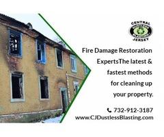 Hire a professional fire damage restoration service