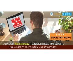 MicroStrategy Training | 100% Practical Knowledge | OnlineITGuru