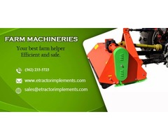 Farm machinery and its various uses