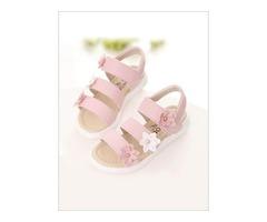 Kids Flower Sandals - Mia Belle Baby