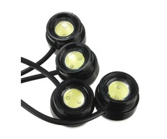 One To Four 4x3W Strobe Flash Eagle Eye LEDs Car Light With Wireless Remote