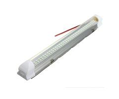 Universal Car Auto Caravan Interior 72 LED White Light Strip Lamp ON/OFF Switch