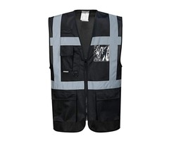 Pair of Executive Portwest Lona Vests - Polyester