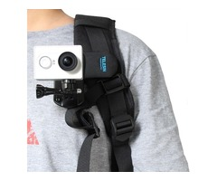 Backpack Clip Mount 360 Degree Rotary Fast Clamp For Xiaomi Yi GOPRO SJ4000 Sony Action Camera
