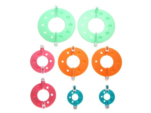 Essential Pom Pom Maker Fluff Ball Weaver Needle Craft Tool Kit | free-classifieds-usa.com