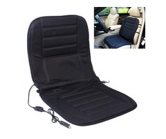 Car Van Auto Heated Padded Pad Hot Seat Cushion Cover Warmer 12V