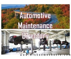 Automotive Maintenance Directory – Trusted Network of Automobile Repairs