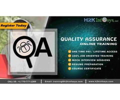 Quality Assurance Online Training for Beginners