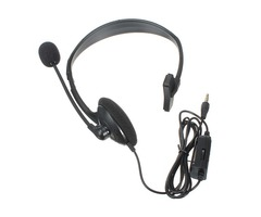 Wired Gaming Headset With MIC & Volume Control For Play Station 4 PS4