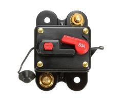 80A Resetable Car Boat Audio/Video AMP Power Fuse Circuit Breaker