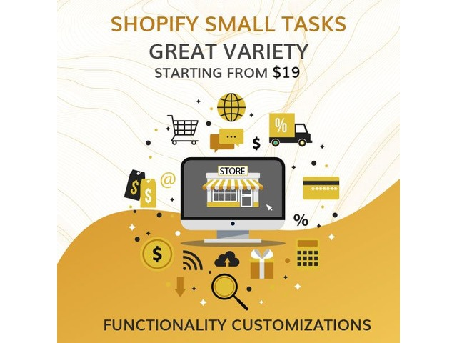 Get Shopify Small Tasks Services at Affordable Price | free-classifieds-usa.com