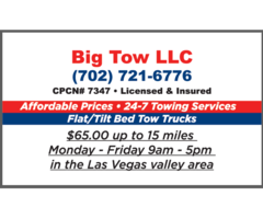 Towing services Tow Truck