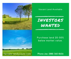 Florida investment vacant land deals