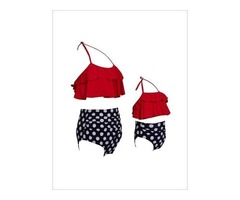 Mother Daughter Swimsuits - Miabellebaby