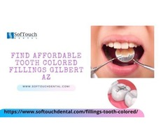 Find affordable Tooth colored Fillings Gilbert AZ