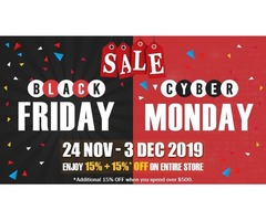 Gemexi announces amazing sale for black friday & cyber monday