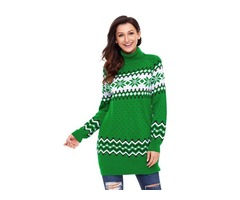 Fast Selling High Quality Wholesale Sweater Woman Long Sleeve Pullover Christmas Jumpers