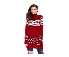 Hessz New arrival high quality ladies pullover women Christmas jumper