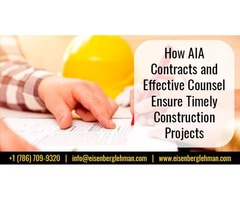 Aia Contracts Miami and Notice of Commencement