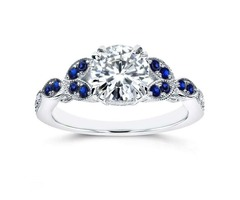Vintage Diamond Engagement Ring - A Diamond is Forever