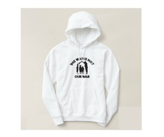 This war is not our war hoodie