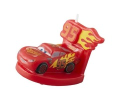 Wilton Cars 3 Candle