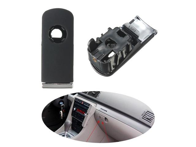 Chrome Glove Box Lock Lid Handle With Hole Dark Grey For Audi A4 8E B6 B7 | free-classifieds-usa.com