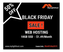 Mylighthost Black Friday Sale is live now!