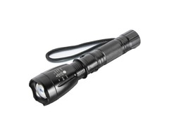 MECO XM-L T6 5 Modes 2000LM Zoomable LED Flashlight 18650/AAA