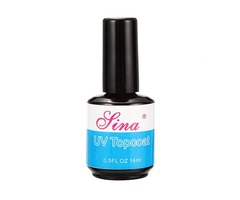 Topcoat Top Coat Acrylic Nail Art Polish Gloss Gel UV