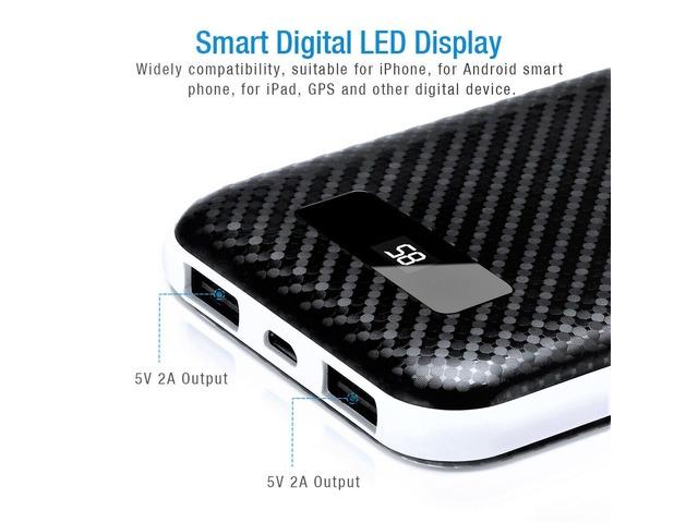 50000-mAh Power Bank Dual USB Portable Battery Phone Charger | free-classifieds-usa.com