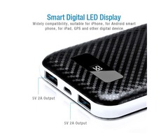 50000-mAh Power Bank Dual USB Portable Battery Phone Charger