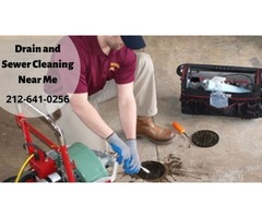 Drain and Sewer Cleaning Near Me