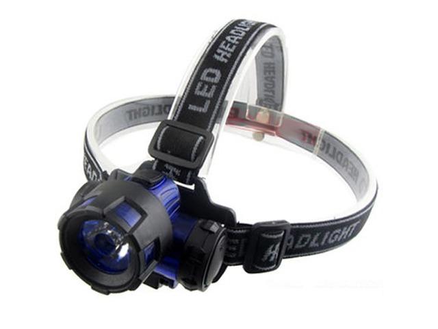 ABS Plastic 3W LED Energy Saving Headlamp Outdoor Headlight | free-classifieds-usa.com