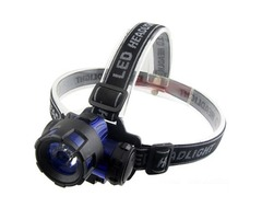 ABS Plastic 3W LED Energy Saving Headlamp Outdoor Headlight